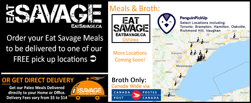 Eat Savage Delivery Locations